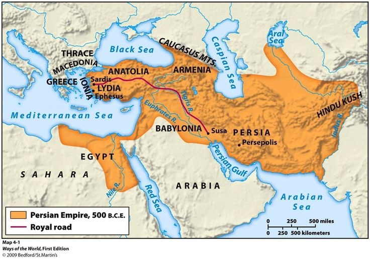 map of the persian empire 500 bc mystery of history volume 1