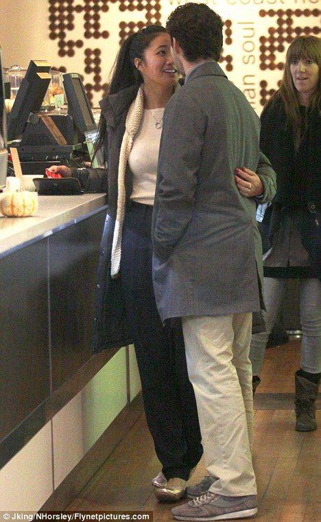 Shia LaBeouf, his girlfriend Karolyn Pho at Milano Coffee!!!
