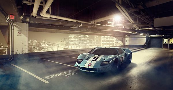 FORD GT40 on Behance
