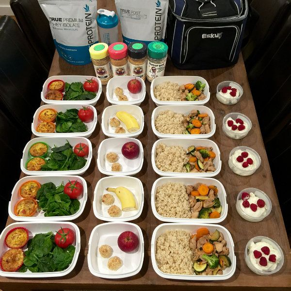 16 best meal prep images on pinterest meal prep plans meal weekly meal preparation plan bulk up forumfinder Image collections
