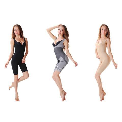c51137e61923c Hot 2017!!Bamboo Fiber Magic Slimming Beauty Underwear Gen Bamboo Charcoal  Slimming Suits Pants Bra Bodysuit Body Shaping