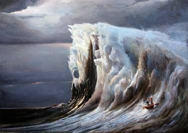 "Saatchi Art Artist Robert Szczebiot; Painting, ""With companion"" #art"