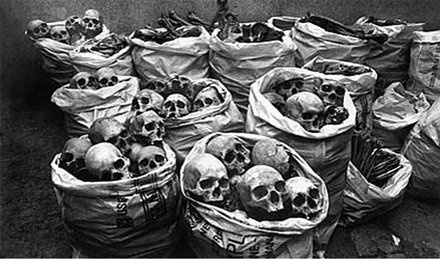 More than 40 tons of methyl isocyanate spilled from a Union Carbide-owned pesticide factory in Bhopal, India, in 1984, killing more than 20,000 people in the world's worst chemical disaster.