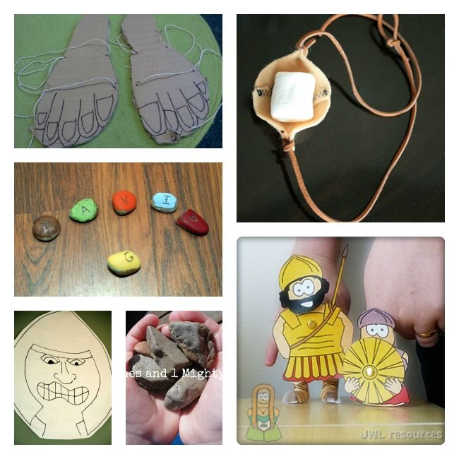 Best 25 david and goliath ideas on pinterest david and for Bible story crafts for kids