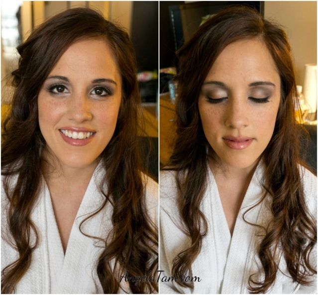 Orange County Wedding Makeup Artist And Hair Stylist Team Angela Tam