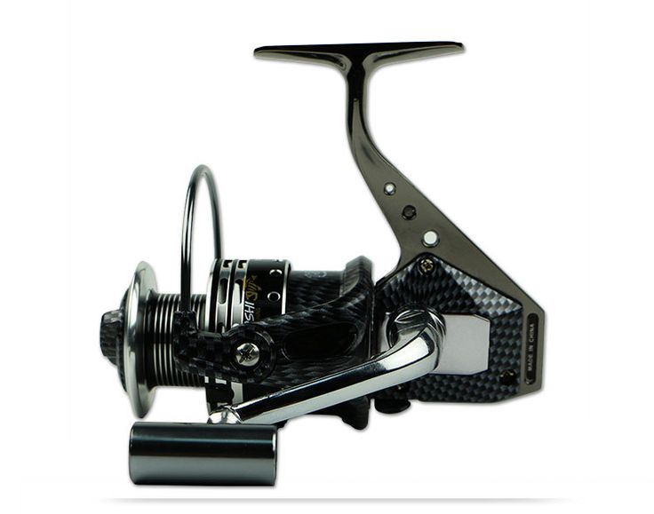 New Zealand Cheap quality  spinning fishing reel with snake skin pattern fishing reels design