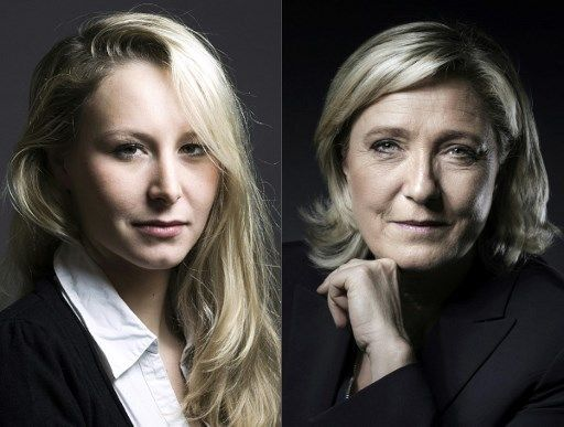 """Sondage : Maréchal-Le Pen """"plutôt un atout"""" pour le FN, Le Pen """"plutôt un handicap"""""""