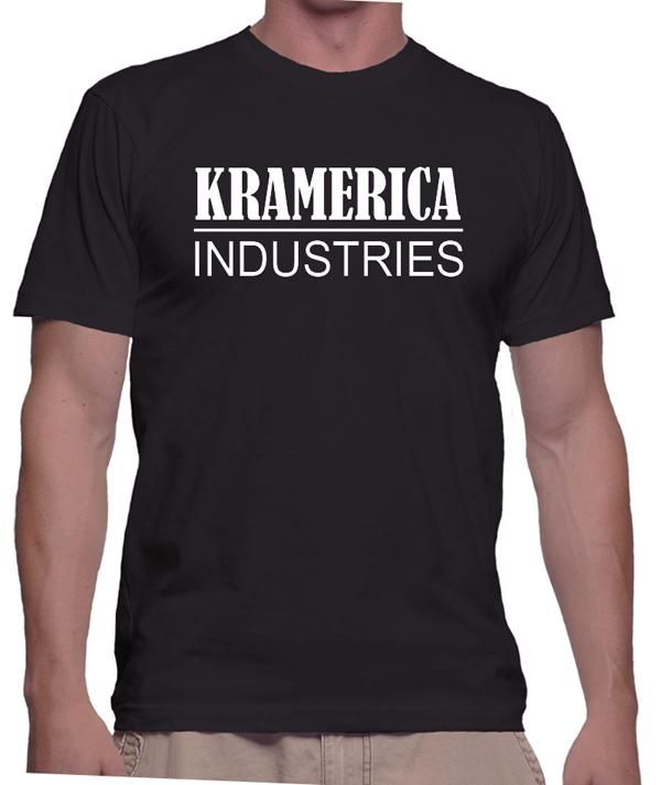 Funny TV Show Shirt - Kramerica Industries, Jerry Seinfeld, Kramer, Sitcom, Comedy, Fictional Corporation