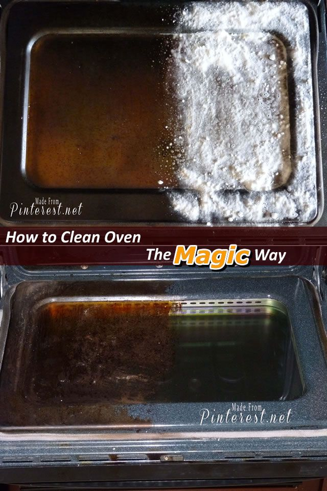 how to use ammonia to clean oven