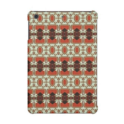 Modern art iPad mini cases