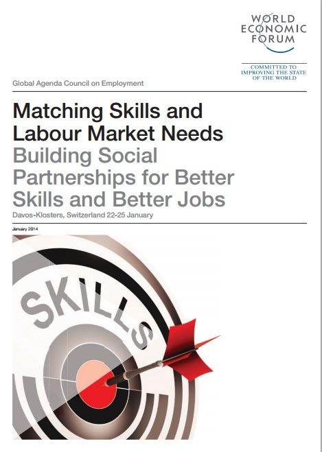 This Report by the World Economic Forum's Global Agenda on Employment presents a set of policy recommendations to enhance skills matching to labour market needs through social partnerships. #wef #wefreport #skills #jobs