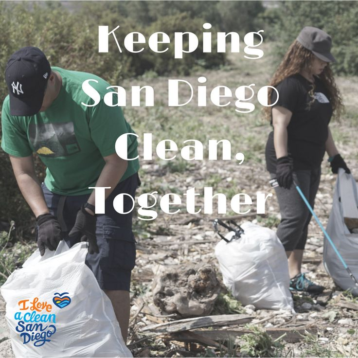 Today is National Take a Hike Day! Our beautiful beaches and scenic trails make San Diegans stay active. Help us keep San Diego clean and volunteer, check out our events calendar for upcoming opportunities.