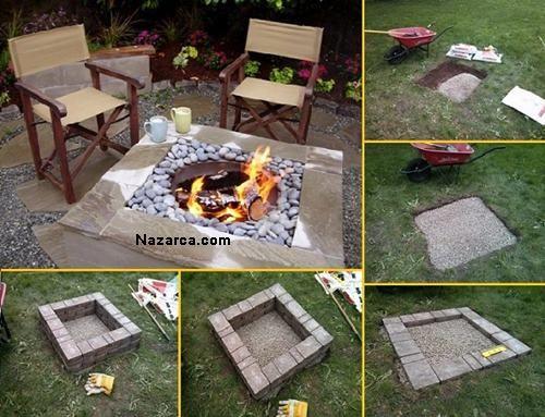 Bahçeye Ateş Yakılacak Çukur Nasıl Yapılır Yaz geliyor hatta geldi diyebiliriz. Ev içi temizlik ve boya kadar Bahçelerin peyzajı tekrar elden geçmeyi bekliyor. Bu yaz Ateş başında sevdiklerinizle s…