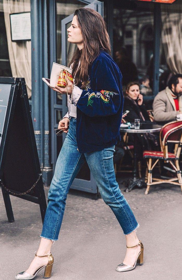 Every Fashion Girl Swears by These 8 Denim Hacks via @WhoWhatWear