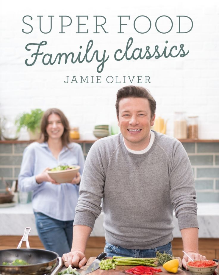 Superfood Family Classics by Jamie Oliver✓
