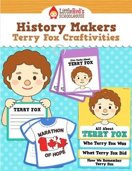 Terry Fox Craftivities - History Makers $