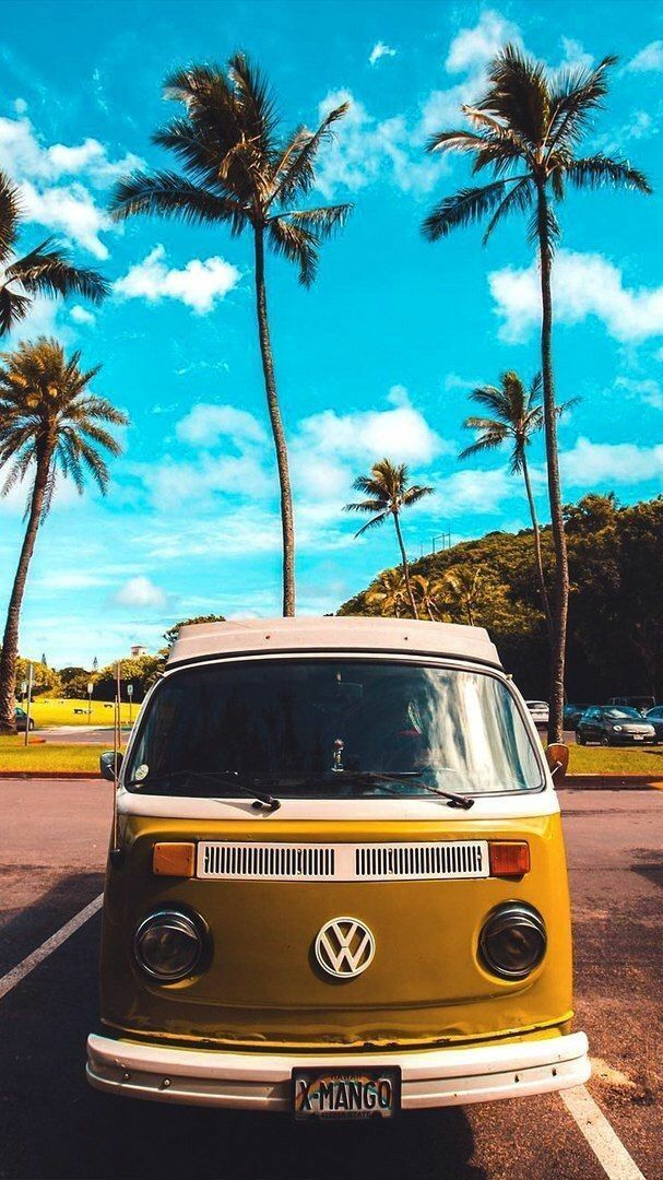 Vw Bus Love With Images Summer Wallpaper Iphone Background