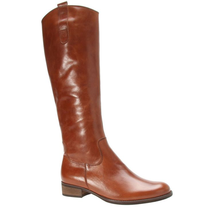 Gabor Tan 'Brook M' womens long boots | Debenhams