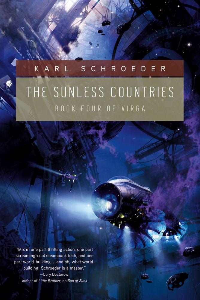 The Sunless Countries Virga Volume 4 Karl Schroeder