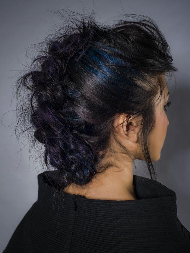 Sally Montague art team gets experimental with coloured hair chalks | Creative HEAD magazine online