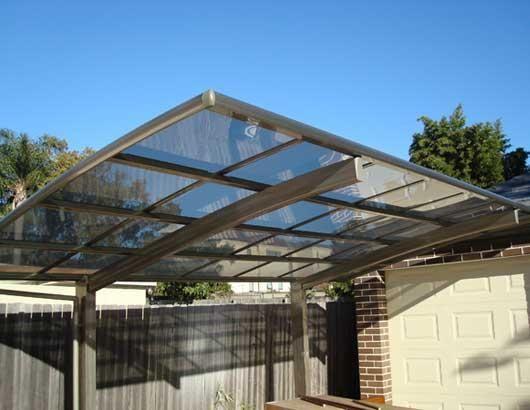 De 25 b sta id erna om carport aluminium bara p for Design carport online