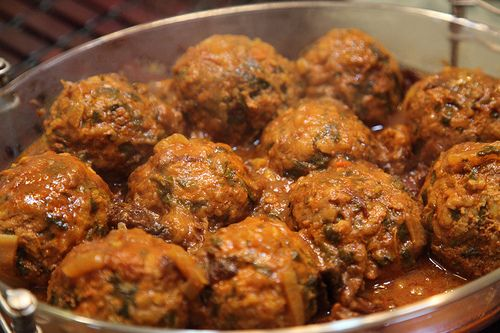 Kufteh Persian Meat Ball Recipes by Enzie Shahmiri - Artist, via Flickr