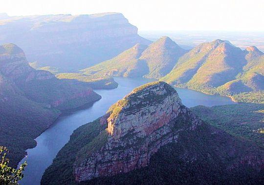 Afrique du Sud - Falaises de Hazy view
