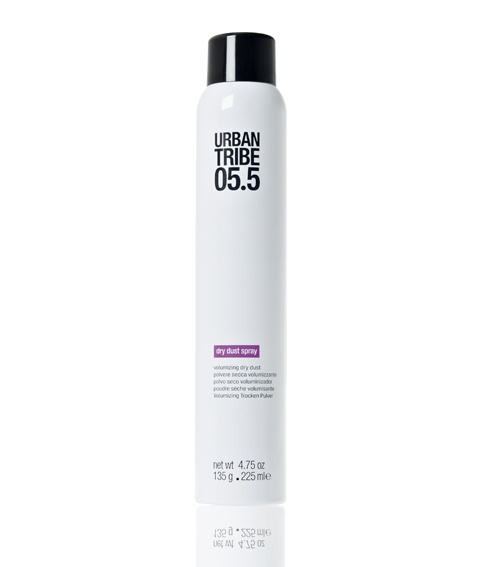 New Urban Tribe product: 05.5 dry dust spray - volumizing dry dust with organic elements! #hair #hairstyle #beauty