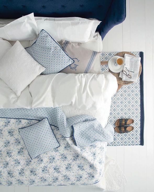 ein tag im bett mit den tollen kissen und decken von greengate greengate herbst winter 2015. Black Bedroom Furniture Sets. Home Design Ideas