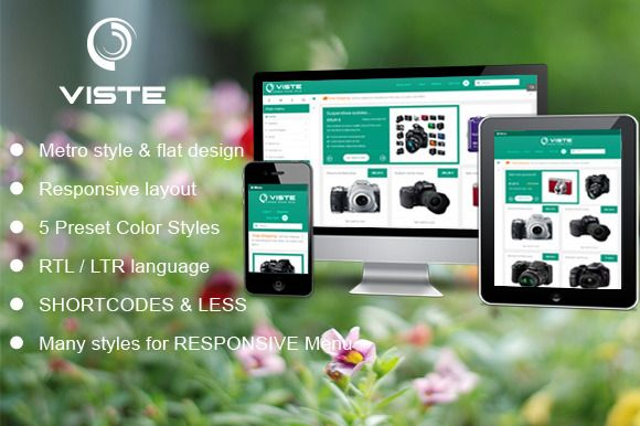 SJ Viste with VirtueMart supported by YouTech on @creativemarket