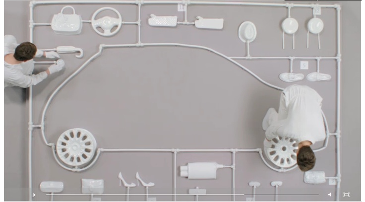 Fiat 500 by Gucci -  @ nowness