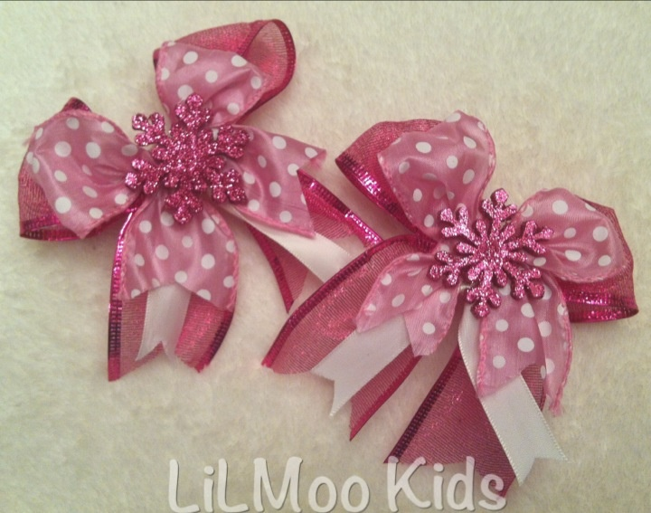 Sparkling Snowflakes www.lilmookids.com $10