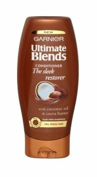 GARNIER ULTIMATE BLENDS CONDITIONER 200ML THE SLEEK RESTORER
