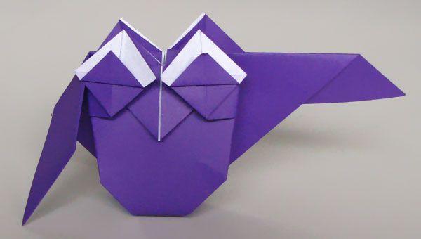 Lechuza origami - owl by Simon Andersen