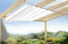 Sonnensegel in Seilspanntechnik -