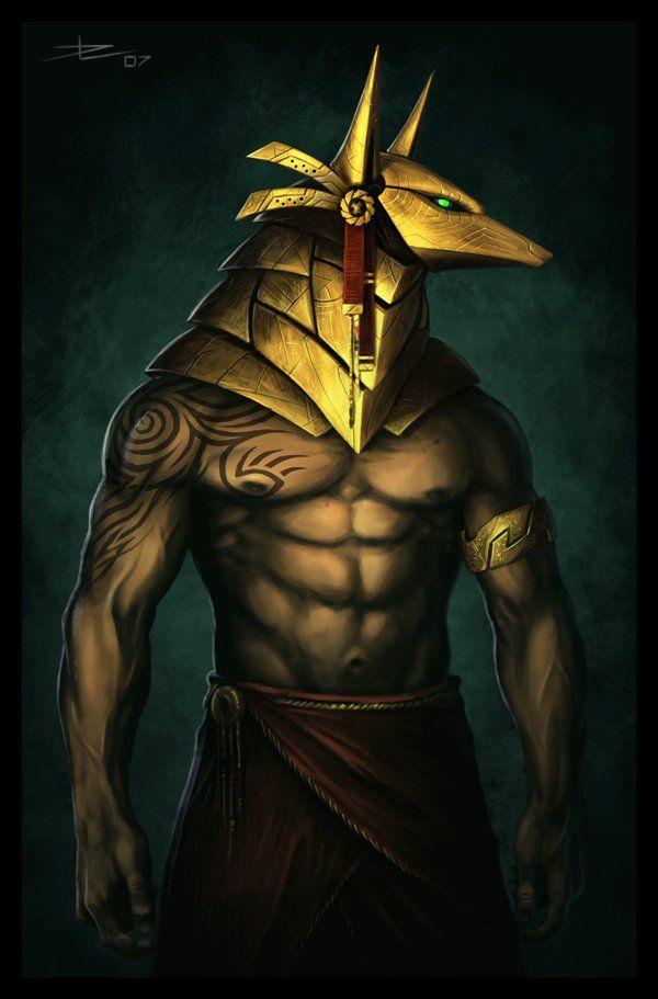 42 best Anubis images on Pinterest | Egyptian mythology ...
