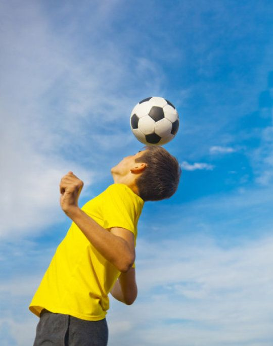 Soccer Heading Not Collisions >> Soccer Heading Not Collisions Cognitively Impairs Players