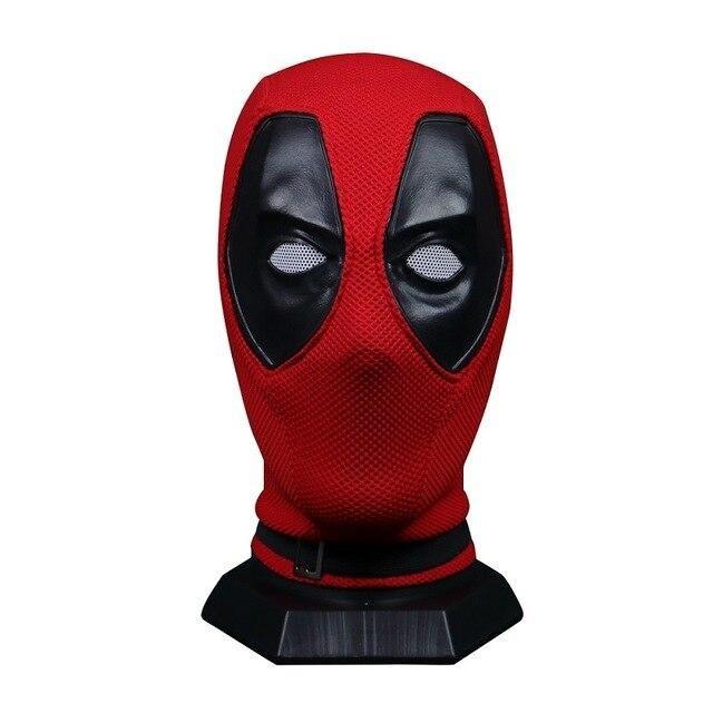 2018 Movie Superhero Deadpool 2 PVC Mask Full Head Helmet Halloween Cosplay Prop
