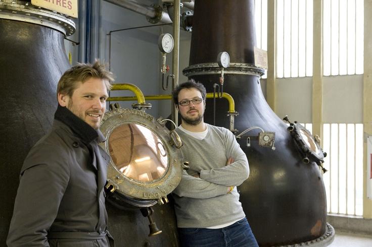 Sebastian Hamilton-Mudge & Tim Stones, Beefeater Global Brand Ambassadors