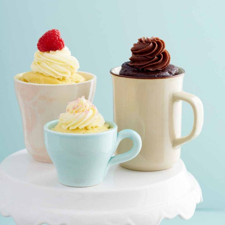 Quick and easy gluten free cakes in a mug for 'those' times you forgot!