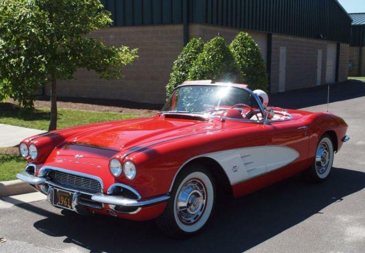 1961 Roman Red & White Corvette - 954 units