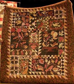made by Jina Barney, beautiful choice of fabrics. a Blackbird Design