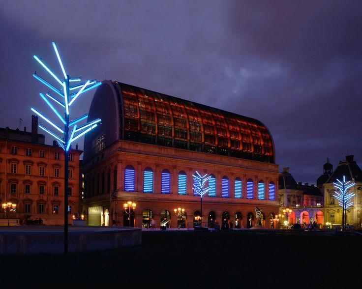 Actld at lyon fête des lumières for the 2006 edition
