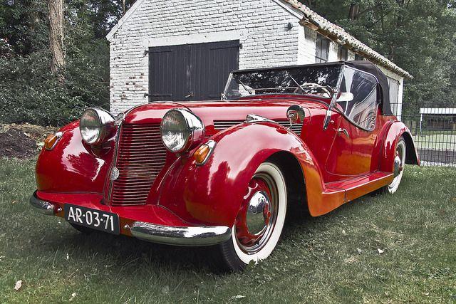 1935 Aero 30 Cabriolet 998cc Twin-Cylinder Two-Stroke Engine