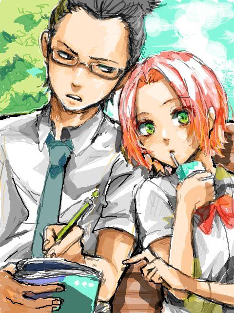 Shikamaru & Sakura................. WOOW! Never imagined them together!