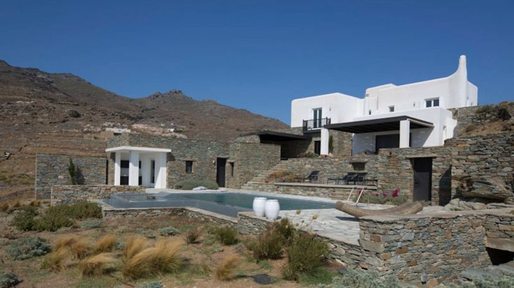 Summer houses in Tinos. Architecture, interior and landscape design by A&T Kontodimas Architects #architecture, #interiordesign, #landscape, #greekarchitects, #summerhouses, #tinos, #greekislands