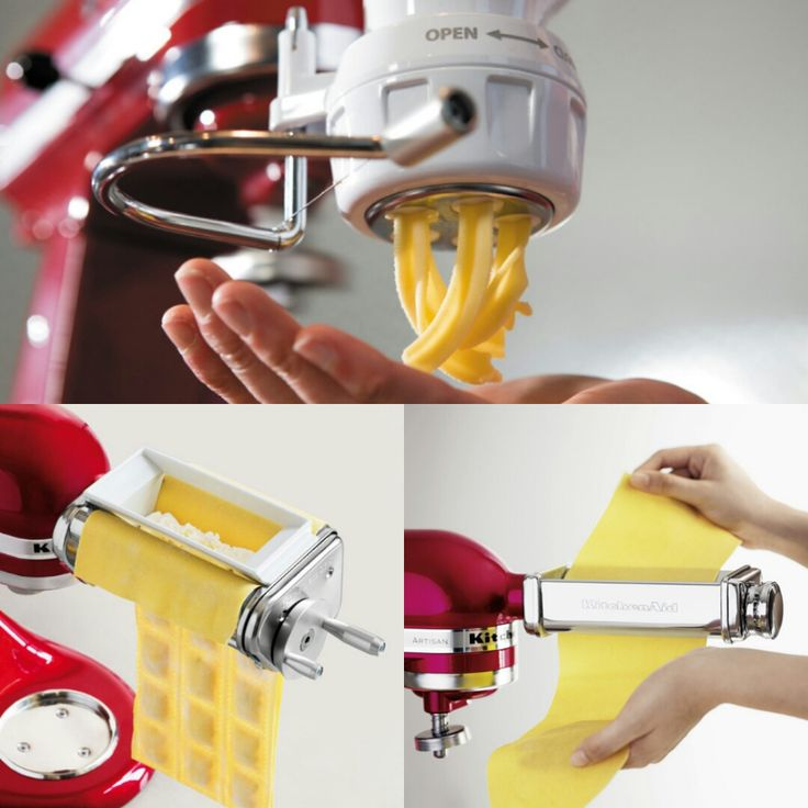 Everyone loves pasta and it can be tricky at times. The only way to ensure you make the most amazing pasta each time is with any of our Pasta Attachments! Much love KitchenAid Africa xx