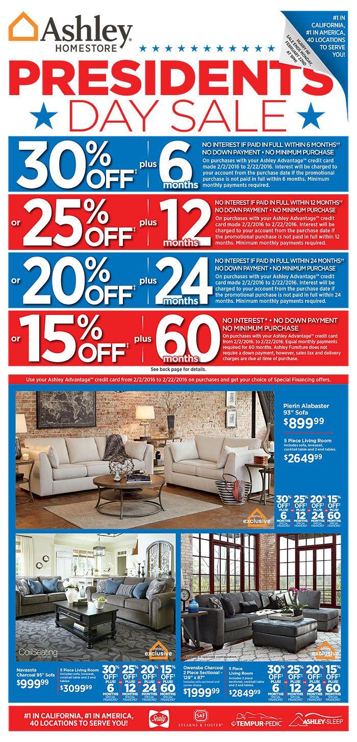 Ashley Furniture Circular Deals February 2 - 8, 2016 - http://www.olcatalog.com/home-garden/ashley-furniture-circular-deals.html