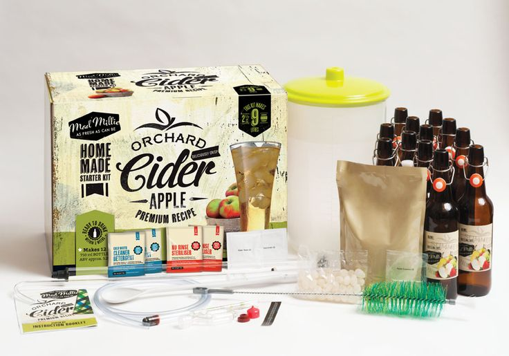 Mad Millie's Starter Cider Kit is all you need to start your first brew!