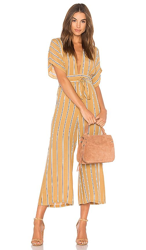3749c9ec5f2 Shop for FAITHFULL THE BRAND Cedric Jumpsuit in Clarke Stripe Print at  REVOLVE. Free 2-3 day shipping and returns